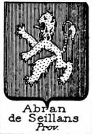 Abran Coat of Arms / Family Crest 0