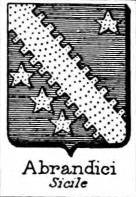 Abrandici Coat of Arms / Family Crest 0