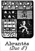 Abrantes Coat of Arms / Family Crest 1