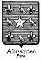 Abrantes Coat of Arms / Family Crest 0