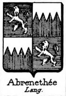 Abrenethee Coat of Arms / Family Crest 0
