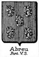 Abreu Coat of Arms / Family Crest 0