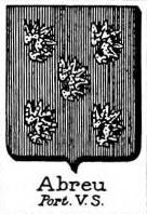 Abreu Coat of Arms / Family Crest 0