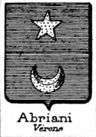 Abriani Coat of Arms / Family Crest 4
