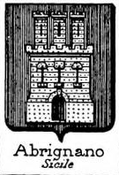 Abrignano Coat of Arms / Family Crest 1
