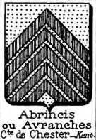 Abrincis Coat of Arms / Family Crest 0