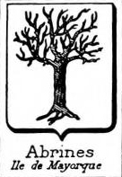 Abrines Coat of Arms / Family Crest 0