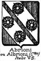 Abrioni Coat of Arms / Family Crest 0