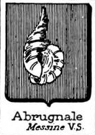 Abrugnale Coat of Arms / Family Crest 1