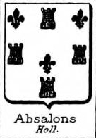 Absalll Coat of Arms / Family Crest 0