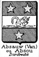 Absauw Coat of Arms / Family Crest 0