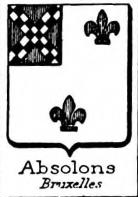 Absolons Coat of Arms / Family Crest 0