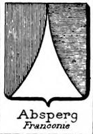 Absperg Coat of Arms / Family Crest 1