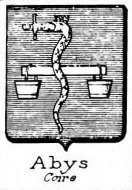 Abys Coat of Arms / Family Crest 0