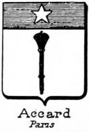Accard Coat of Arms / Family Crest 0