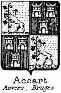 Accart Coat of Arms / Family Crest 0