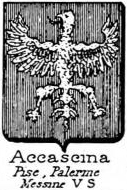Accascina Coat of Arms / Family Crest 1