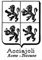 Acciajoli Coat of Arms / Family Crest 2