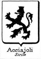 Acciajoli Coat of Arms / Family Crest 3