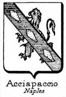 Acciapaccio Coat of Arms / Family Crest 0