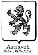 Acciavoli Coat of Arms / Family Crest 0