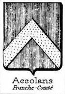 Accolans Coat of Arms / Family Crest 0