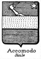 Accomodo Coat of Arms / Family Crest 0