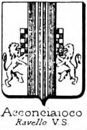 Acconciaioco Coat of Arms / Family Crest 1