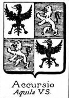 Accursio Coat of Arms / Family Crest 0