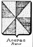 Acerac Coat of Arms / Family Crest 0