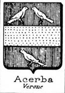 Acerba Coat of Arms / Family Crest 0