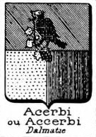 Acerbi Coat of Arms / Family Crest 0