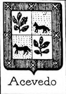 Acevedo Coat of Arms / Family Crest 1