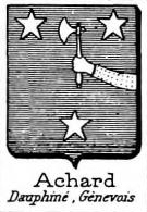 Achard Coat of Arms / Family Crest 1