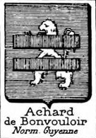 Achard Coat of Arms / Family Crest 3