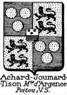 Achard Coat of Arms / Family Crest 6