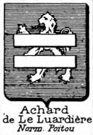 Achard Coat of Arms / Family Crest 7