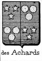 Achards Coat of Arms / Family Crest 0