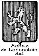 Achaz Coat of Arms / Family Crest 1