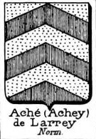 Ache Coat of Arms / Family Crest 1