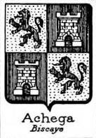 Achega Coat of Arms / Family Crest 0