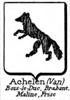 Achelen Coat of Arms / Family Crest 0