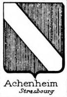 Achenheim Coat of Arms / Family Crest 0