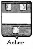 Acher Coat of Arms / Family Crest 0