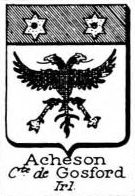 Acheson Coat of Arms / Family Crest 1