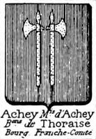 Achey Coat of Arms / Family Crest 1