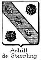 Achill Coat of Arms / Family Crest 1