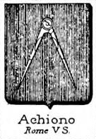Achiono Coat of Arms / Family Crest 0
