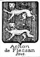 Achon Coat of Arms / Family Crest 1