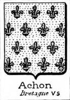 Achon Coat of Arms / Family Crest 0